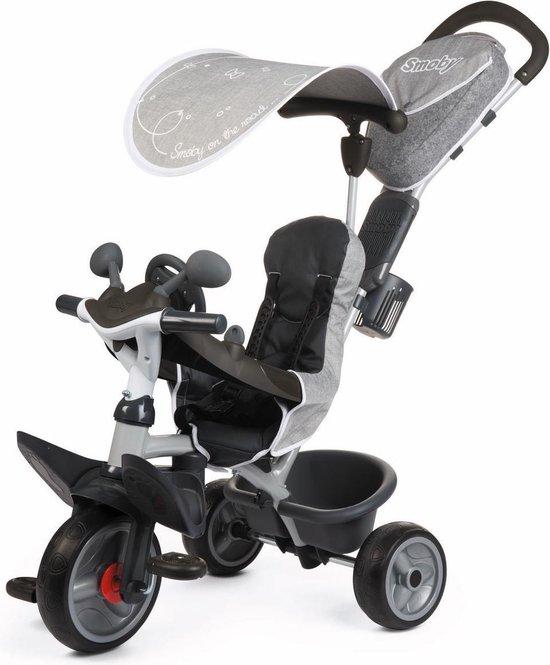Smoby Baby Driver Comfort Grijs - Driewieler