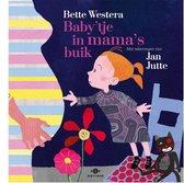 Boek cover Babytje in mamas buik van Bette Westera