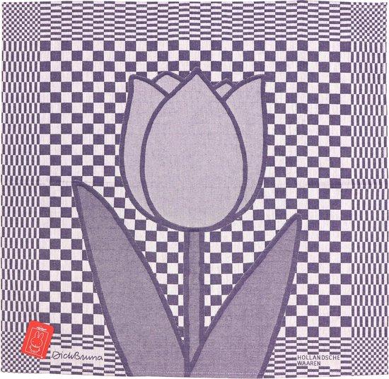 Theedoek Dick Bruna, Hollandse Tulp 65x65 cm 100% katoen