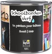 Schoolbordenverf 0.5 L (tot 5 m2) zwart waterbasis