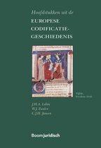 Boom Juridische studieboeken  -   Hoofdstukken uit de Europese Codificatiegeschiedenis