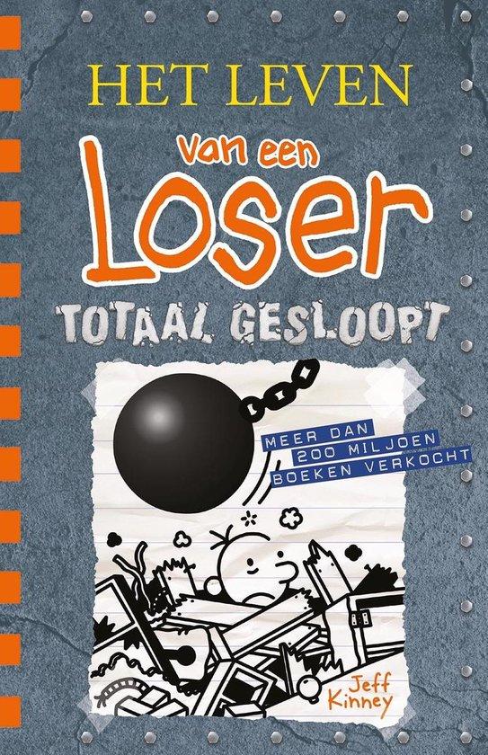 Boek cover Het leven van een Loser 14 - Totaal gesloopt van Jeff Kinney (Hardcover)