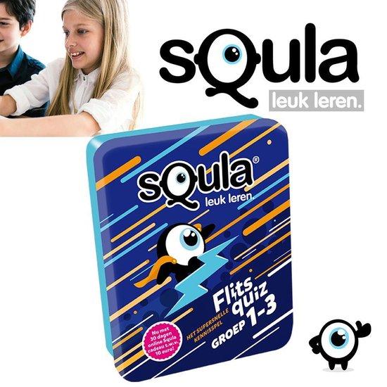 Afbeelding van het spel Squla Het Supersnelle Kennisspel - Groep 1-3