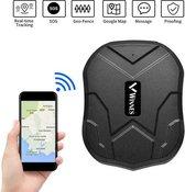 Magnetisch Waterbestendig GPS Tracker 90 Dagen Stand-by 5000mAh Batterij Echte Tijd Tracking Schok Alarm Gratis APP Geen Abonnement
