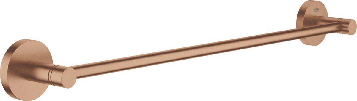 GROHE Essentials handdoekhouder - 450 mm - Sunset Gold (mat brons)