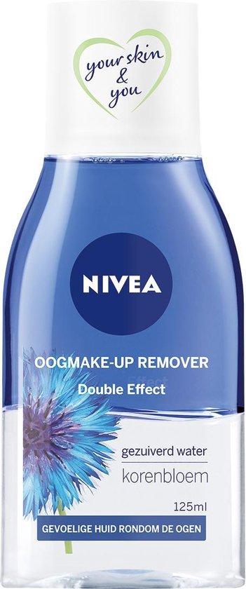 NIVEA Double Effect Oogmake-up Remover - Gezichtsreiniger - 125 ml