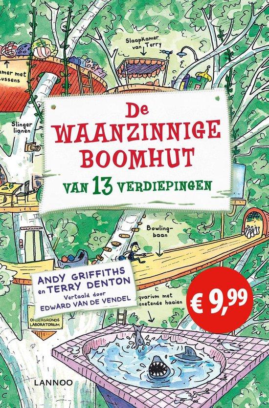 Boek cover De waanzinnige boomhut van 13 verdiepingen van Andy Griffiths (Paperback)