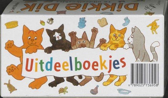 Dikkie Dik  -   Uitdeelboekjes 16 ex