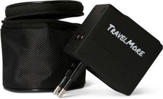 TravelMore Universele Reisstekker met 2 USB Poorten - Internationale Reis...