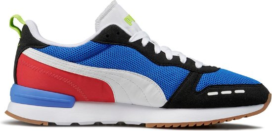 PUMA R78 Heren Sneakers Palace Blue PUMA Black PUMA White Maat 43