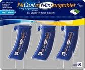 NiQuitin Minizuigtablet 4 mg - stoppen met roken - 60 stuks
