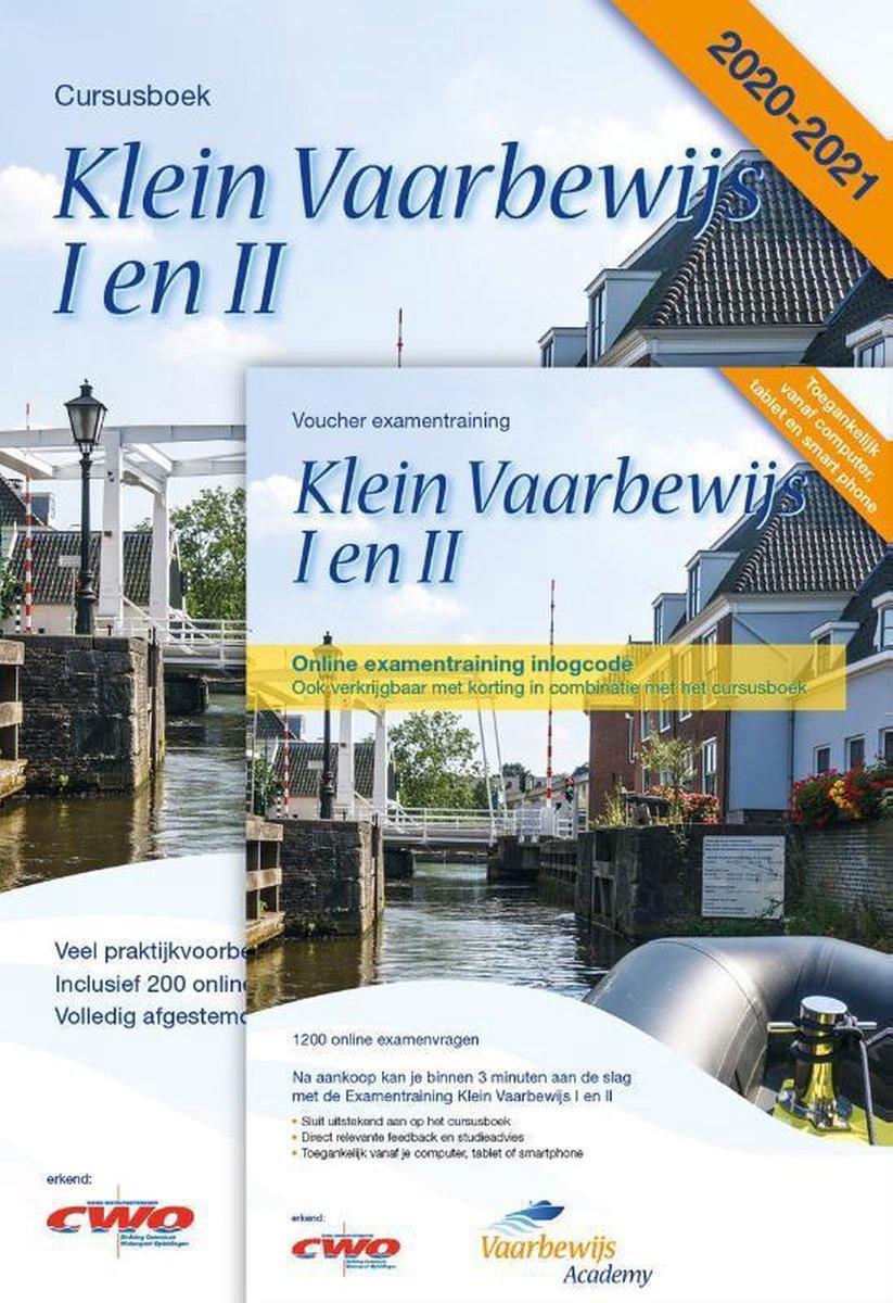 Klein Vaarbewijs I en II + Online Examentrainingen met 1200 online proefexamenvragen