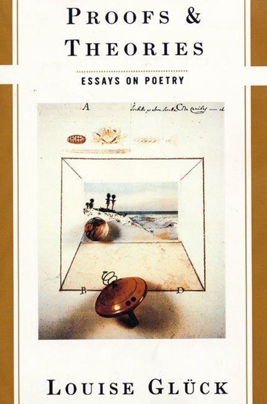 Boek cover Proofs & Theories (Paper) van Louise Gluck (Hardcover)