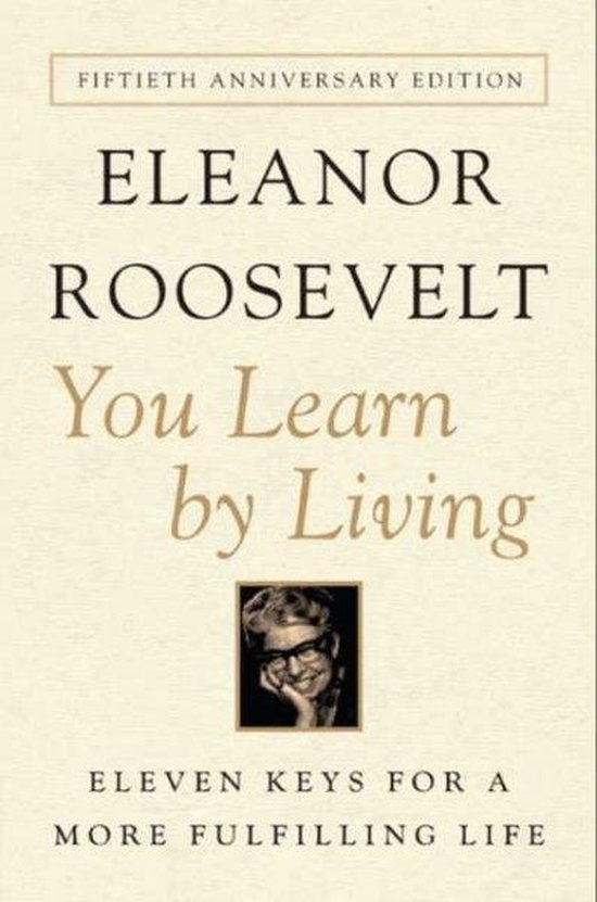 Boek cover You Learn by Living van Eleanor Roosevelt (Paperback)