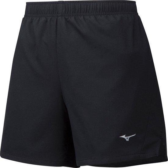 Mizuno Impuls Core 5.5 Short  Sportbroek - Maat XS  - Vrouwen - zwart