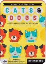 Petit Collage Magnetisch Spel Cats & Dogs 4 Op Een Rij