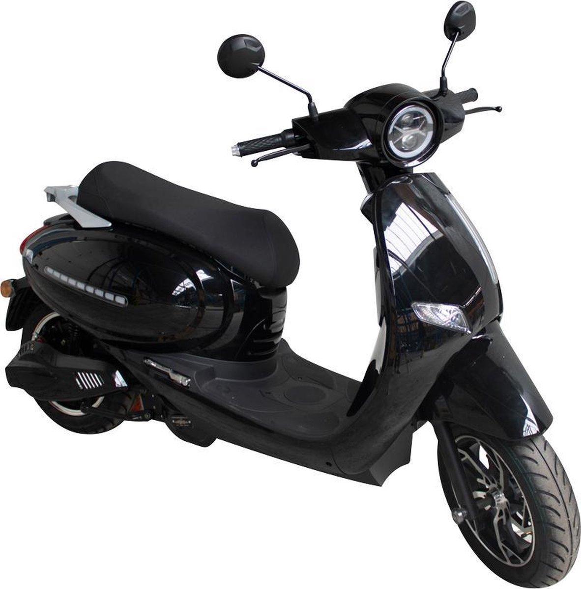 Elephant - City- Elektrische scooter - 25km/h - Actieradius 45km - Zwart