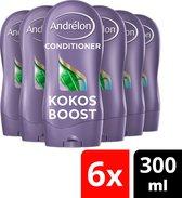 Andrélon Special Kokos Boost Conditioner - 6 x 300ml - Voordeelverpakking