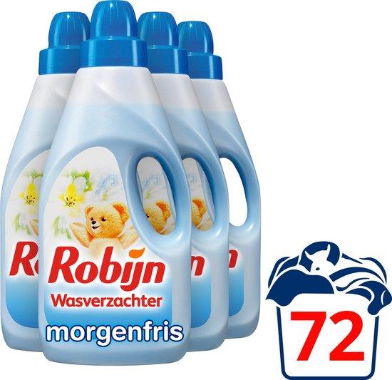 Robijn Klein & Krachtig Morgenfris - 4 x 18 wasbeurten - Voordeelverpakking