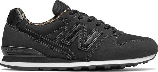 New Balance WL996 B Dames Sneakers - Black - Maat 35