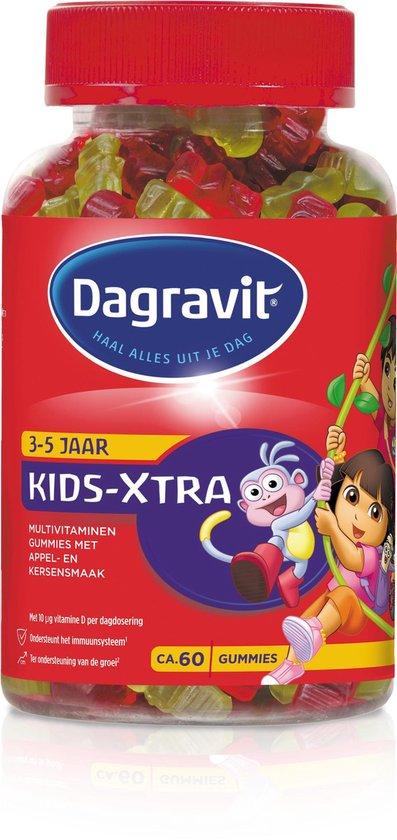 Dagravit Kids Extra 3-5 jaar Dora en Diego Kinder Multivitaminen - 60 Gummies