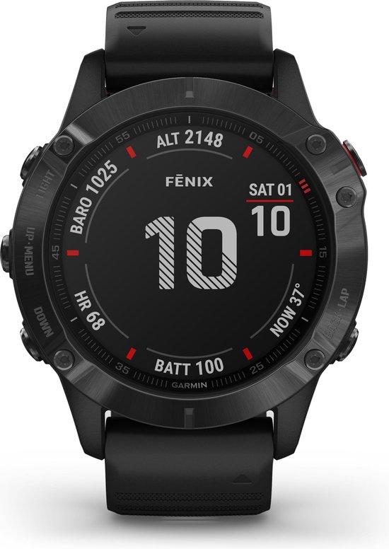 Garmin Fenix 6 PRO - Multisport - Smartwatch - Black