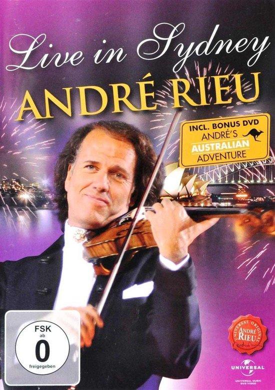 CD cover van André Rieu - Live In Sydney: Andrés Australian Adventure van André Rieu