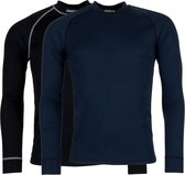 Craft Active 2-Pack Tops Heren Thermoshirt - Black/White - XS