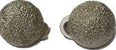 Petra's Sieradenwereld - Clipoorbel zilverkleurige bol (2690-202)