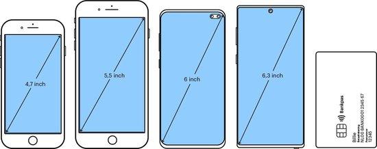 Senioren Smartphone (op basis van een Samsung smartphone) - Zwart