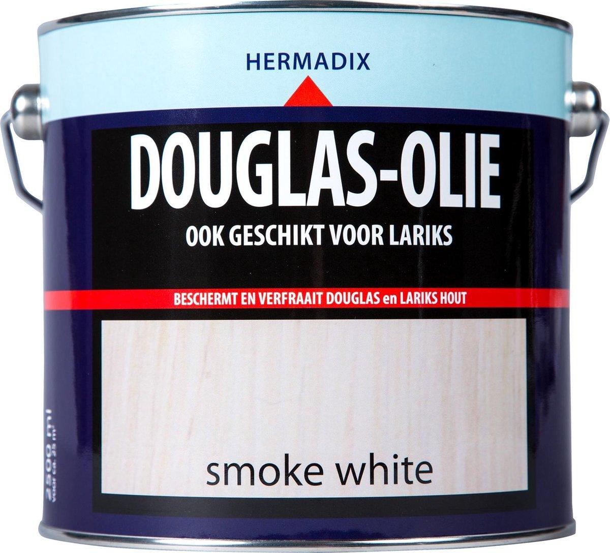 Hermadix Douglas Olie - Smoke White - 2,5 liter