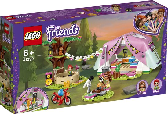 LEGO Friends Glamping in de Natuur - 41392