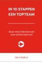 10 stappen boekenserie  -   In 10 stappen een topteam
