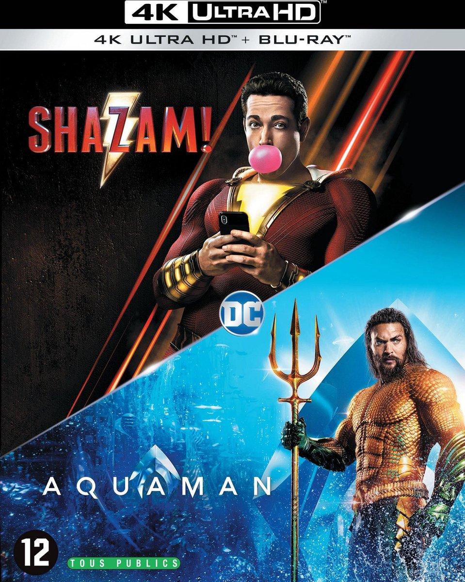 Shazam! & Aquaman (4K Ultra HD Blu-ray)-