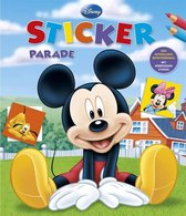 Boek - Kleur- & stickerboek - Mickey Mouse