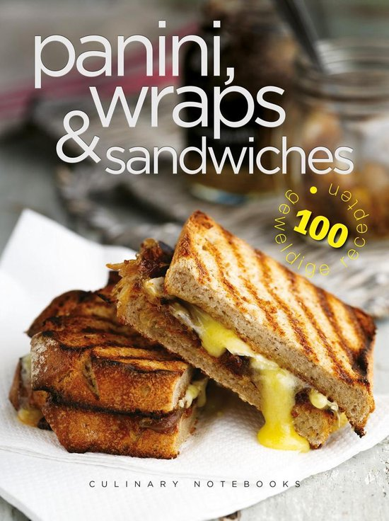 Afbeelding van Culinary Notebooks Paninis, wraps & sandwiches
