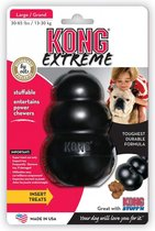 Kong Extreme Medium - Kauwspeelgoed - 81mm x 55mm x 60mm - Zwart