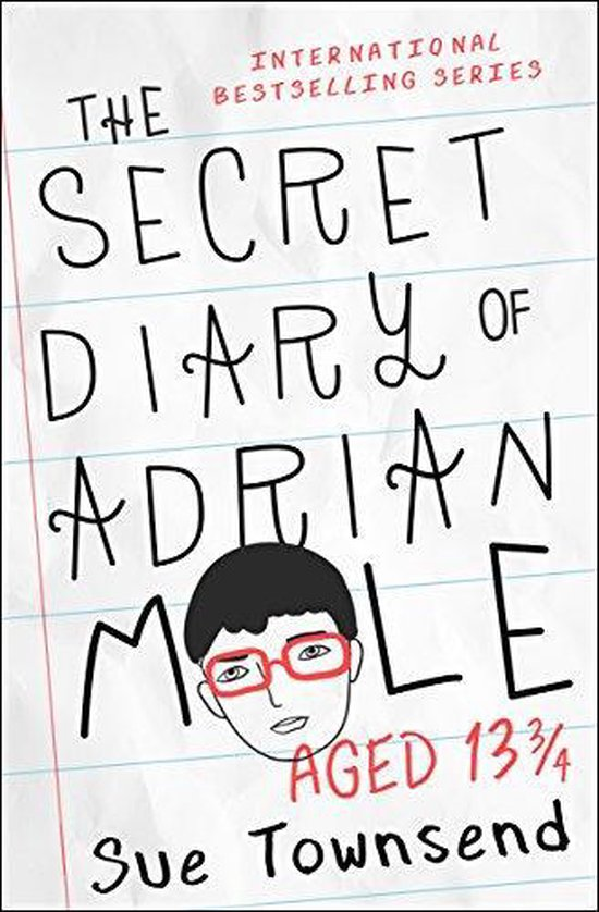Boek cover The Secret Diary of Adrian Mole Aged 13 3/4 van Sue Townsend (Paperback)