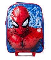 Spiderman trolley - rood met blauw - Ultimate Spider-Man tas