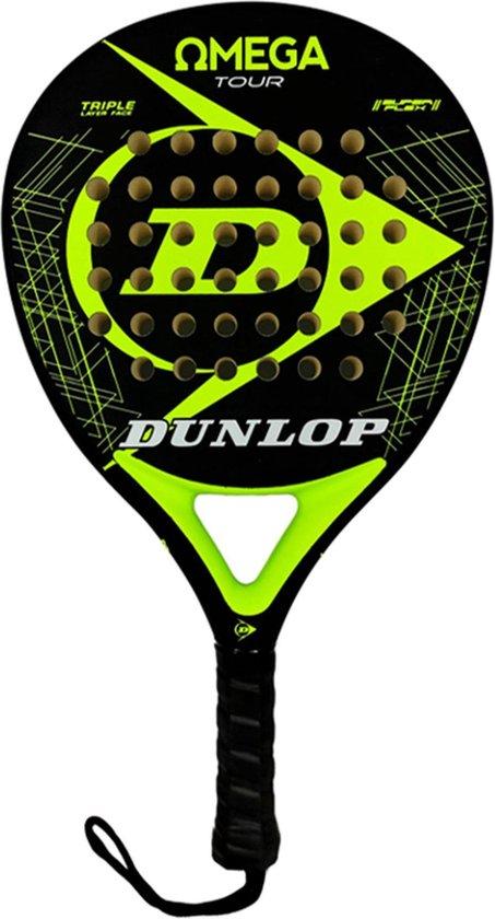 Dunlop - Omega Tour Yellow Fluor - padelracket
