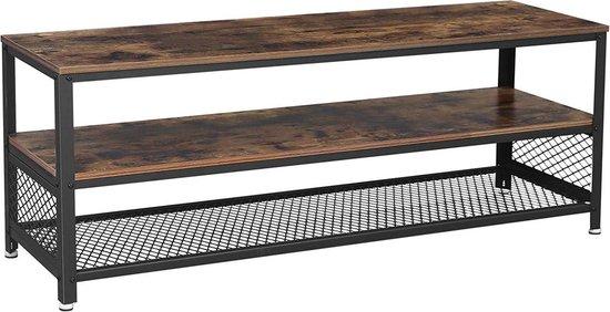 Betere bol.com | Tv meubel hout met metaal xxl - geschikt voor 60inch tv OZ-32