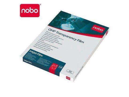Nobo Overheadprojector transparanten voor inkjetprinters (50 st)