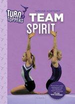 Boek cover Turn toppers - Teamspirit van Simone Kortsmit