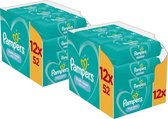 Pampers Fresh Clean Billendoekjes 24 x 52 doekjes