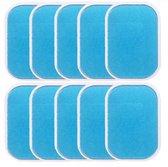 Gel pads buikspiertrainer- Gel pads EMS - 10 stuks - elektrisch buikspierapparaat plakkende pads
