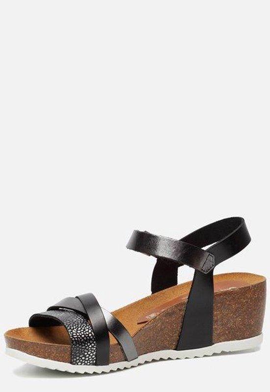 Oh My Sandals Sandalen Met Sleehak Zwart - Maat 39 S2R9aC