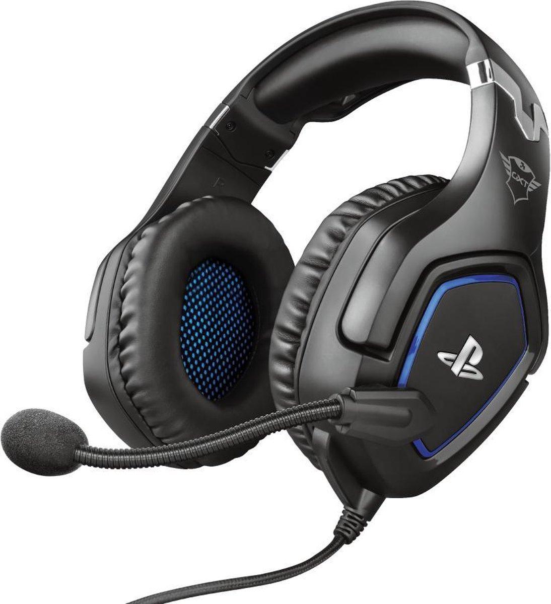 Trust GXT 488 Forze – Gaming Headset - Official Licensed - Geschikt voor PS4 & PS5 / Zwart