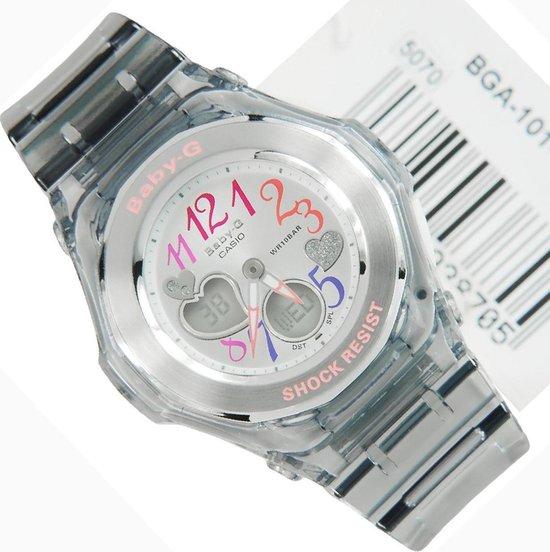 Casio vrouwen horloge BGA101-8B Baby G schock