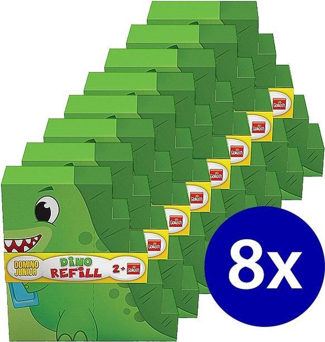 8 x Domino Express Junior Refill - 240 stenen