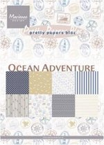 Marianne Design • Bloc ocean adventure